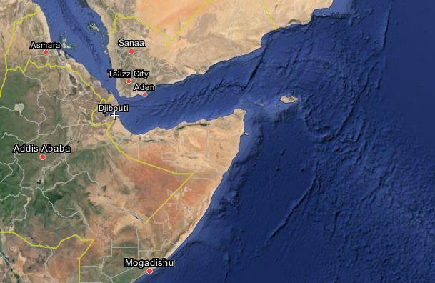 Djibouti is strategically located near the Horn of Africa.