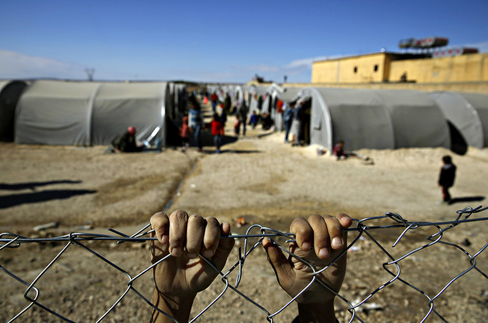 Refugee camp in the Suruç, a border town between Turkey and Syria; Photo: Jordi Bernabeu Farrús via Flickr