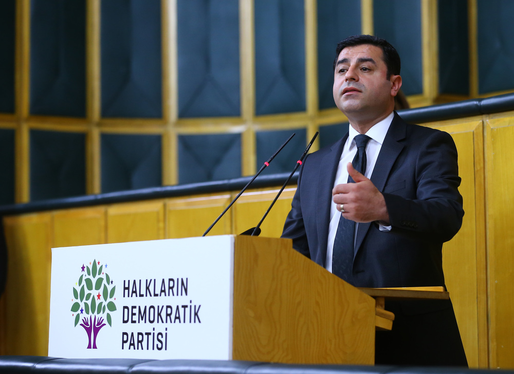 HDP leader Selahattin Demirtaş. Image: The Grand National Assembly of Turkey