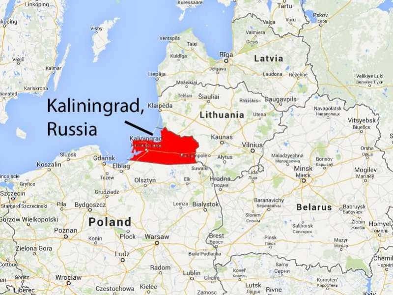 Due to its location, Kaliningrad is an important geopolitical region for Russia.