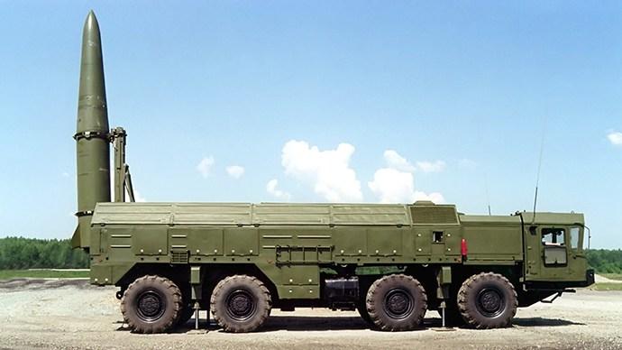 A Russian Iskander Missile