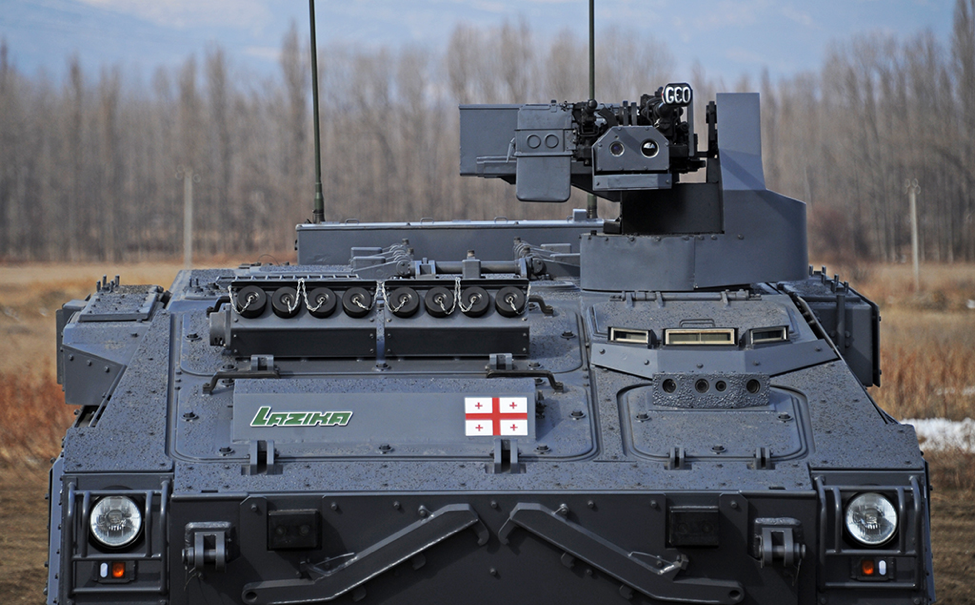 DRWS-2 Remote Turret Integrated on Lazika Infantry Fighting Vehicle. Image courtesy of the manufacturer.