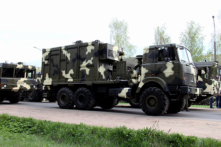 Command post vehicle. Image courtesy of the Belarus State Military Industrial Committee.