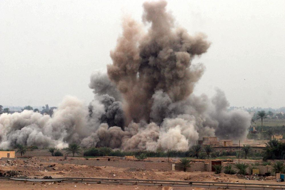 US airstrike in Afghanistan. Image: Wikimedia