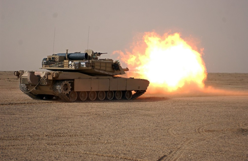 An M1A1 Abrams tank. Image: Flickr/Mark Holloway
