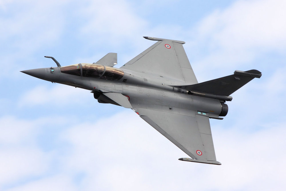A Dassault Rafale multi-role fighter jet. Image: Wikipedia/Tim Felce.