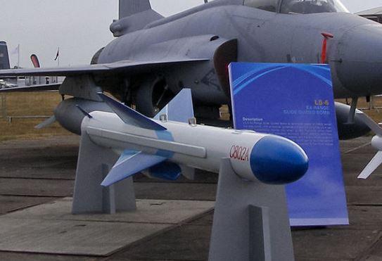 A Chinese C-802 anti-ship missile. Image: Wikipedia/MilborneOne