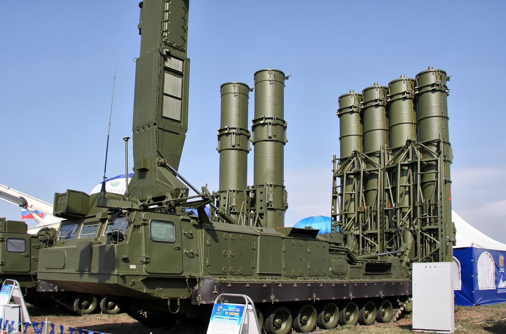 Russian S-300V4. Courtesy of Vitaly Kuzmin.