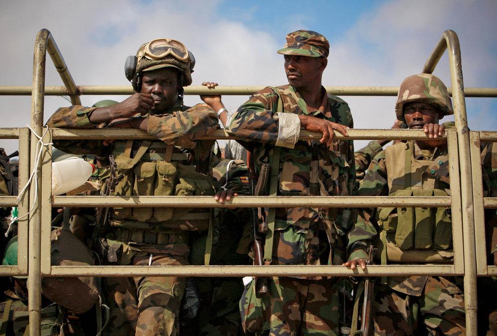 AMISOM troops in Mogadishu, Somalis. Image: Flickr/AMISOM.