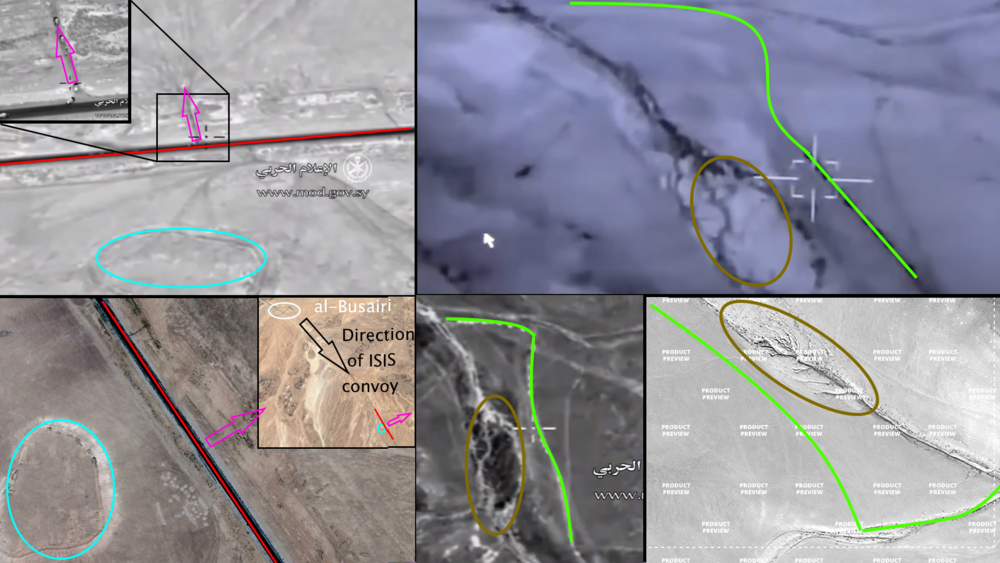 Analysis of the video reveals the exact locations.