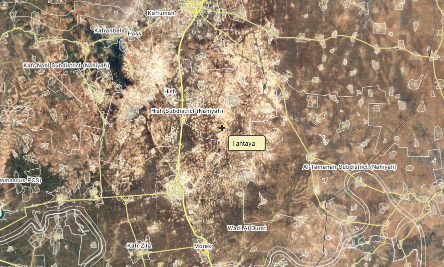 Tahtaya village, southwestern Idlib.