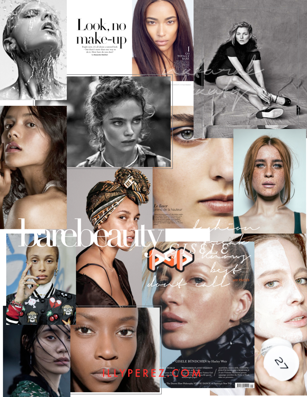 BARE BEAUTY MOODBOARD BY ILLY PEREZ
