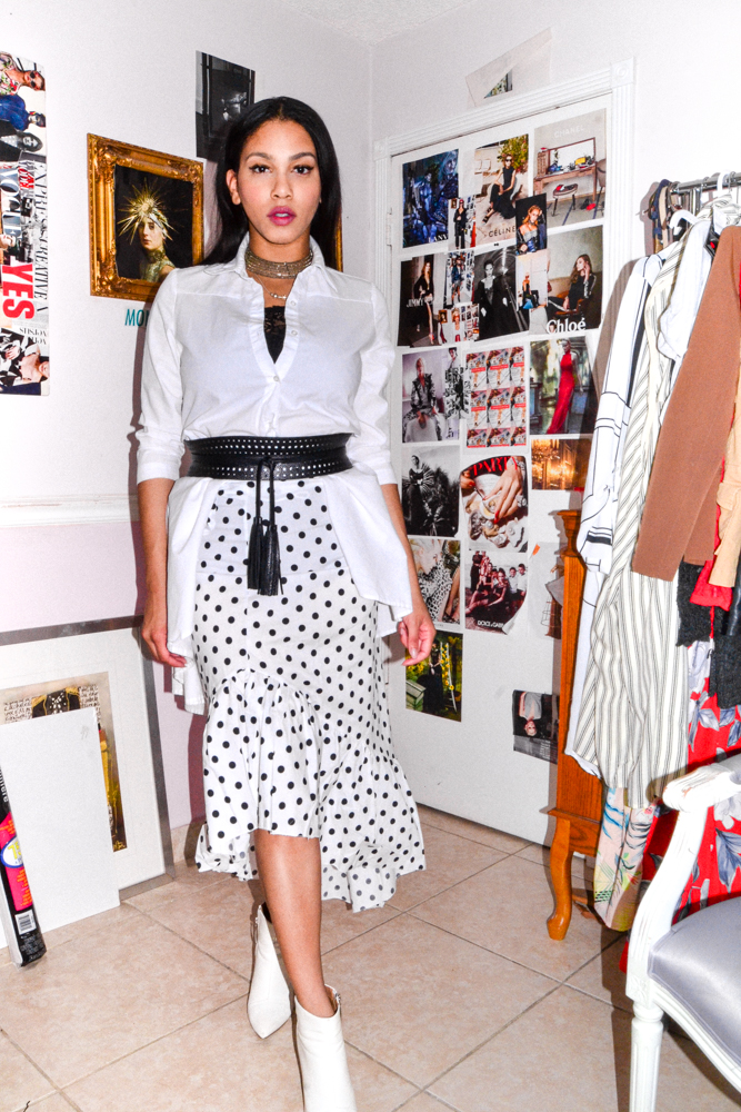 The Polka Skirt -