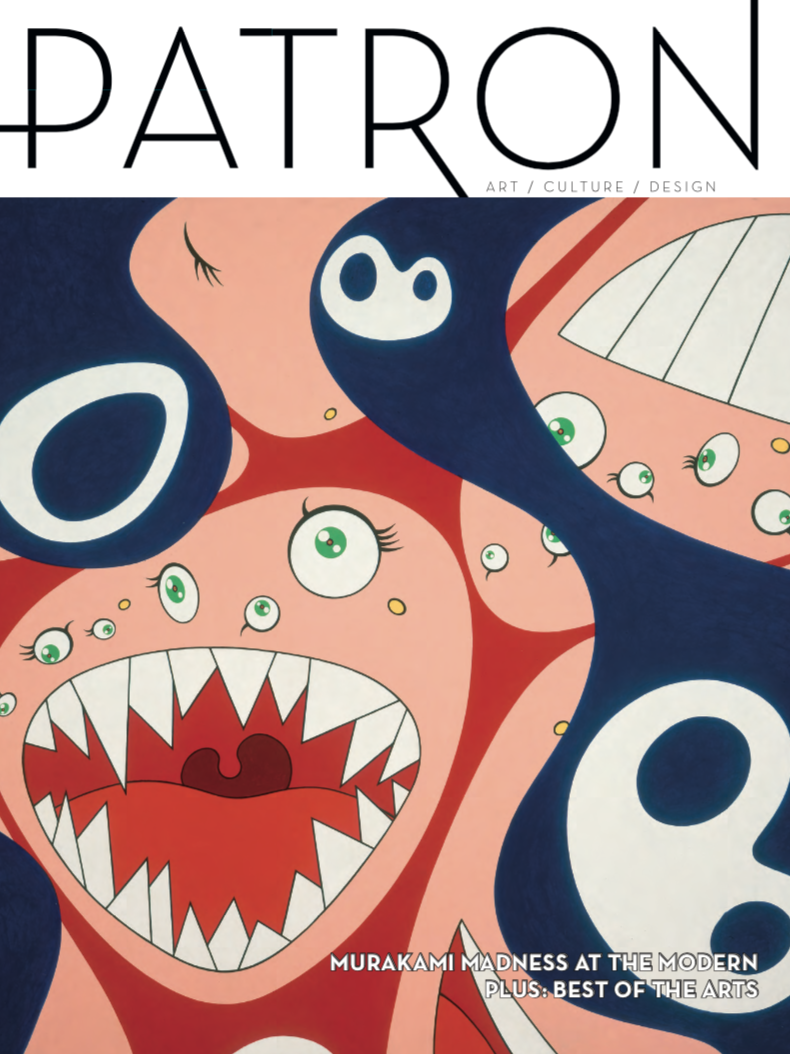 Patron Magazine Best of Arts isseu June July 2018