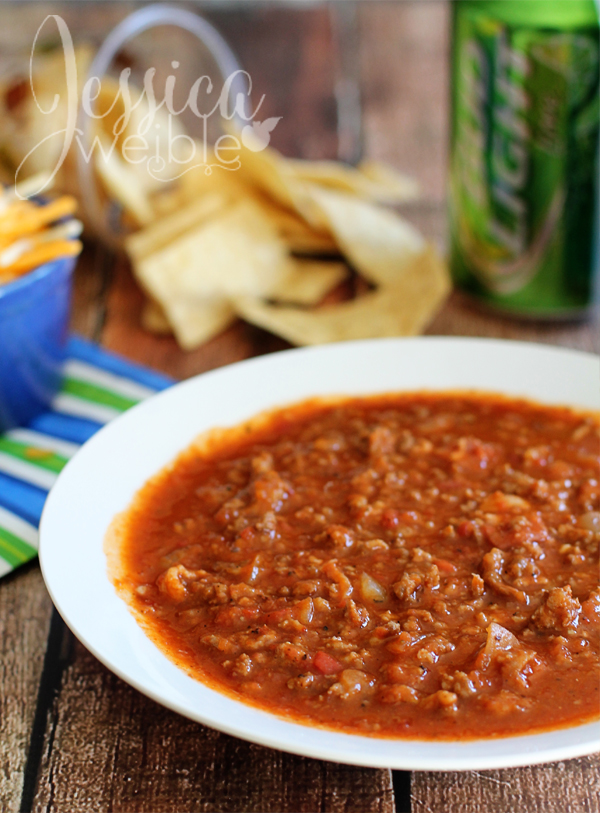 3 meat game day chili jw illustrations