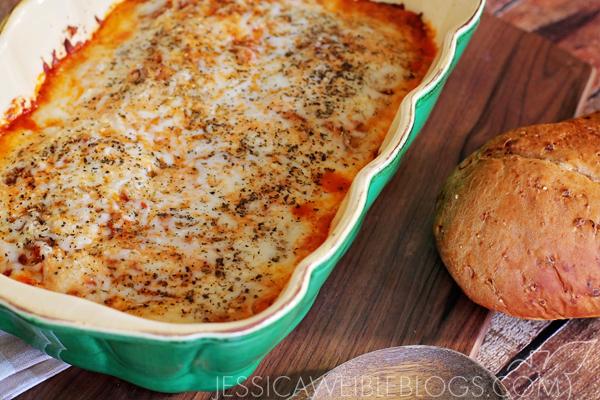 Bevs Eggplant Lasagna