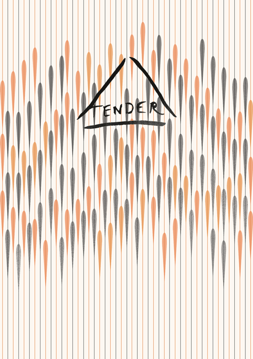 Cover artwork for Tender - a quarterly journal made by women