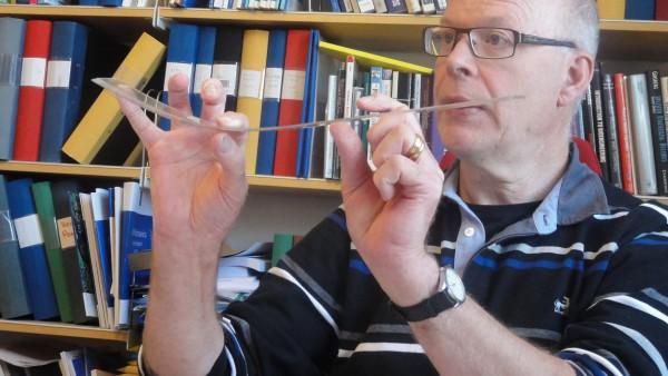 Professor Anders Eriksson (KTH) beskriver vad en Spline-funktion är för något.