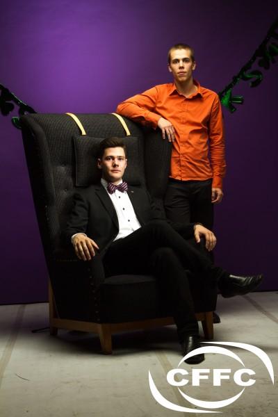 Mikael Ingemyr och Philip Frick