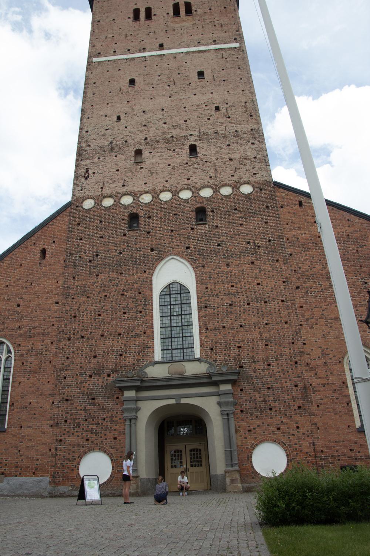 Hur högt är egentligen Strängnäs kyrktorn?