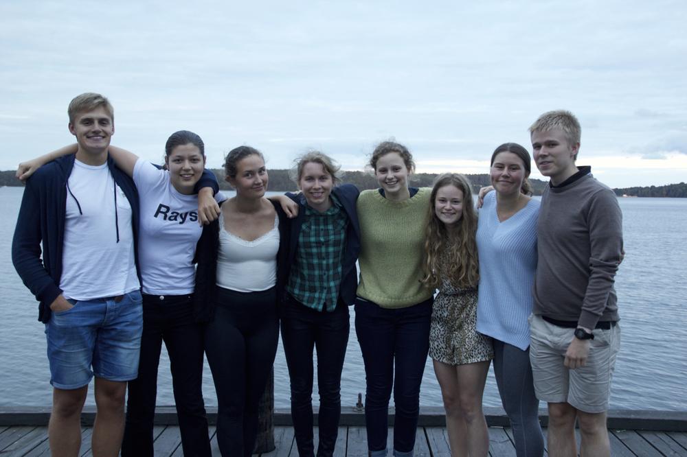 Handledare gruppen Bromsare utan bromsar med handledare Anna Broms