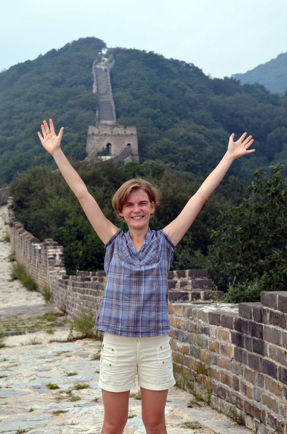 Alexandra Polyakova, Rays 2015, genomförde ett forskningsprojekt som tog henne till Kina.