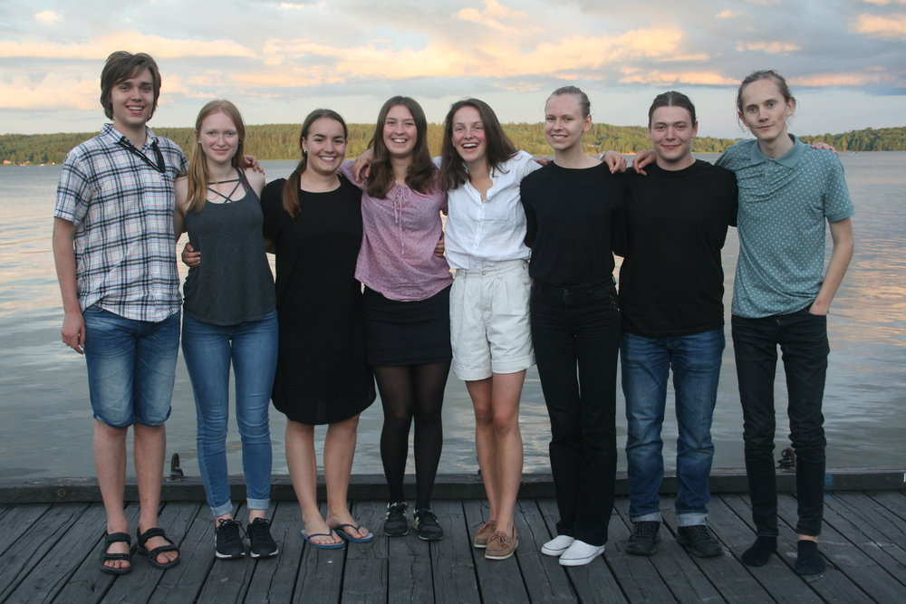 Handledargruppen Jaktlaget med handledare Klara Kiselman