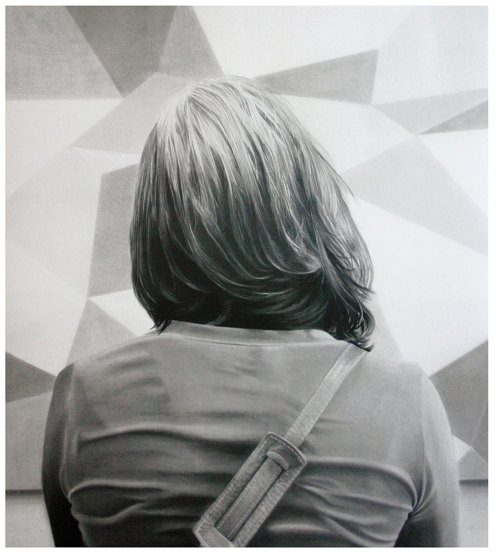 Stephanie 2011 graphite on paper 137.0 x 110.0 cm