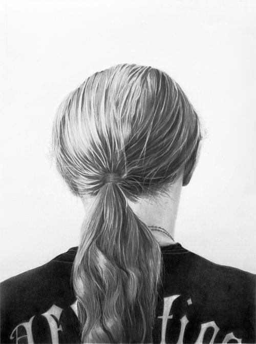 John 2010 graphite on paper 76.0 x 52.0 cm