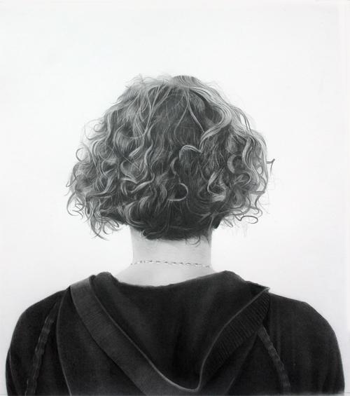 Sally 2010 graphite on paper 76.0 x 52.0 cm