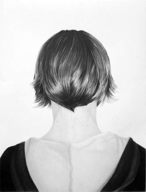 Helen 2010 graphite on paper 76.0 x 52.0 cm