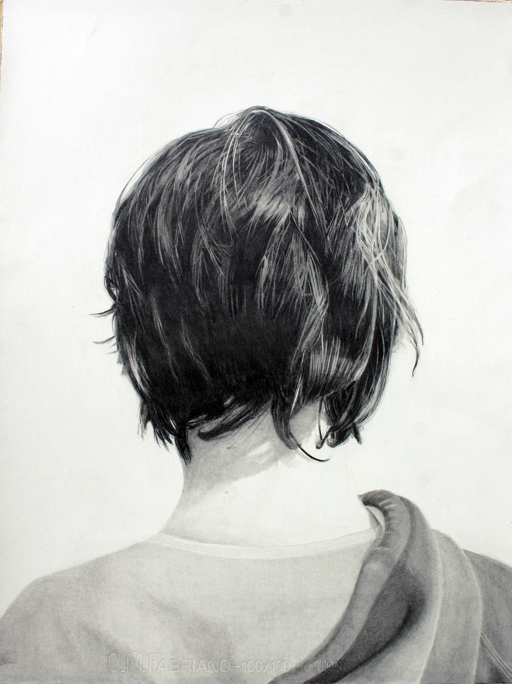 Leon 2010 graphite on paper 76.0 x 52.0 cm