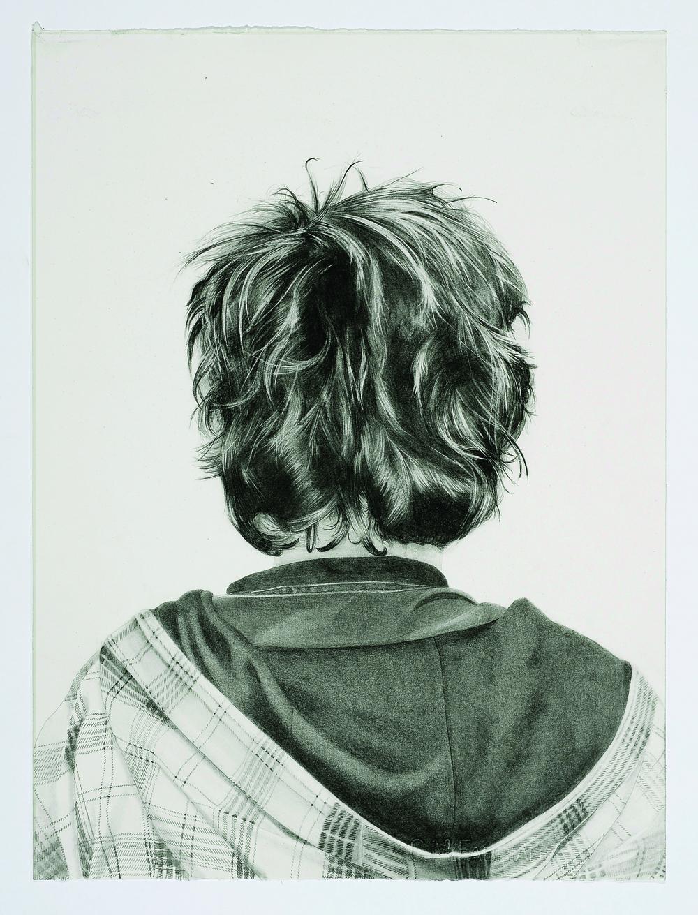 Pierre 2009 graphite on paper 76.0 x 52.0 cm