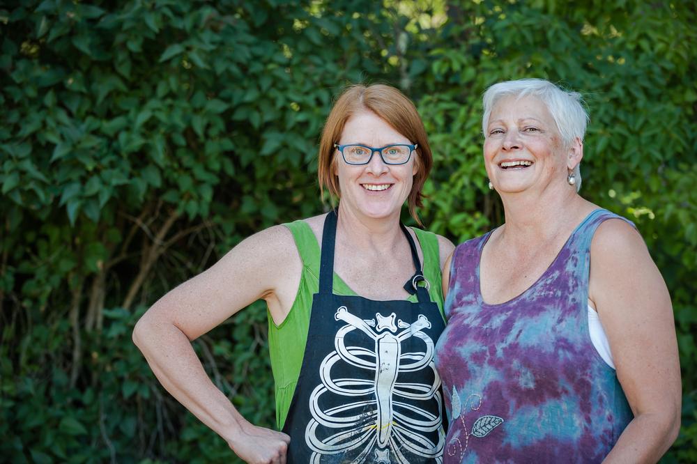 Pam Nichols and Kathie Vezzani