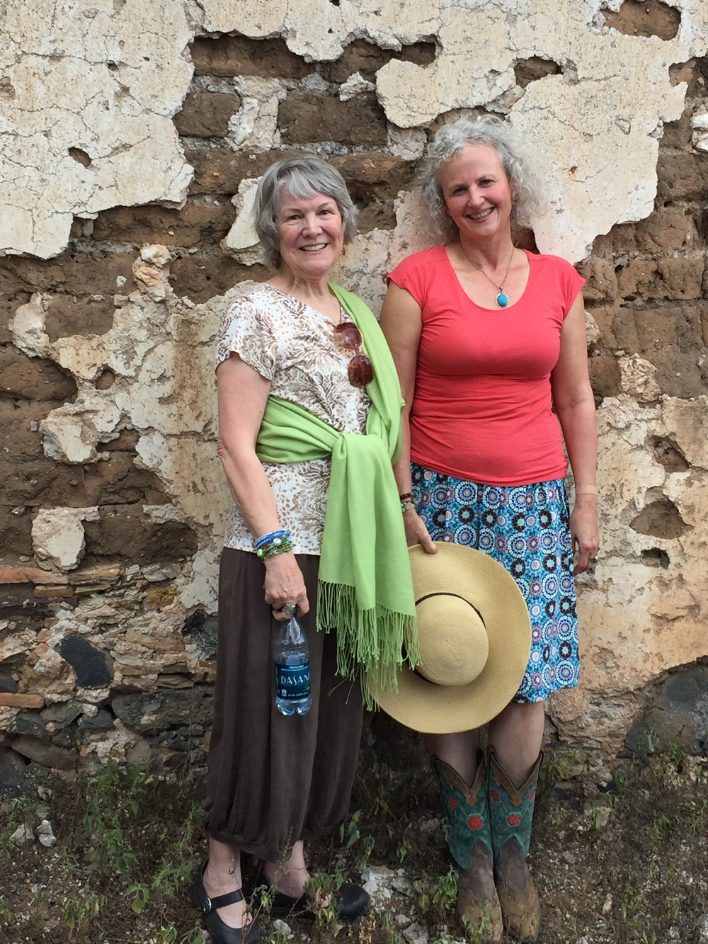 Judy Wise and Katie Kendrick in San Miguel de Allende, Mexico