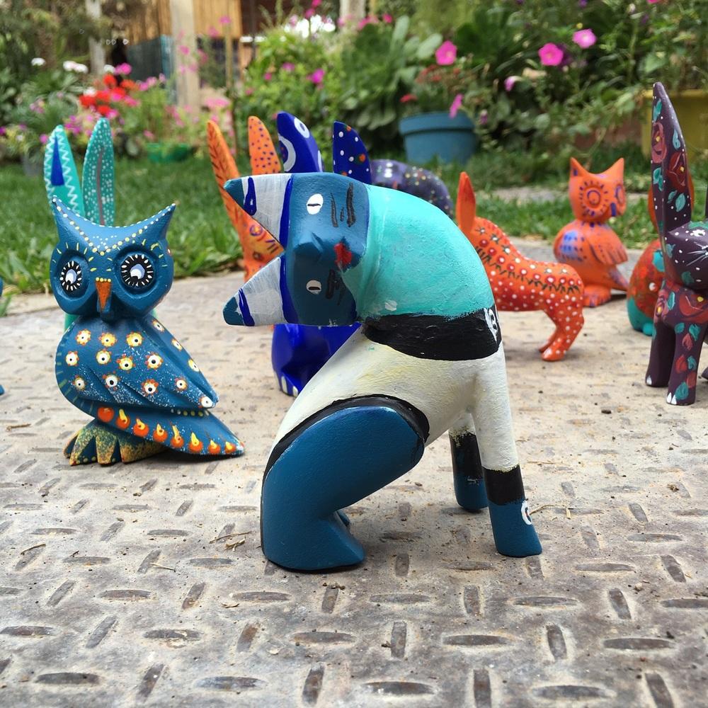Spark Oaxaca artists' efforts