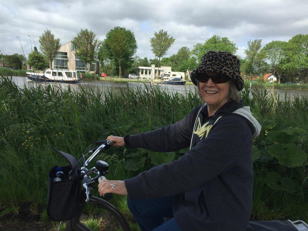 Judy in Amsterdam