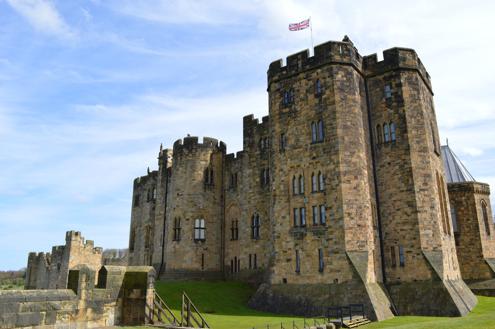 Alnwick Castle - Harry Potter, Transformers and Downton Abbey have all filmed here