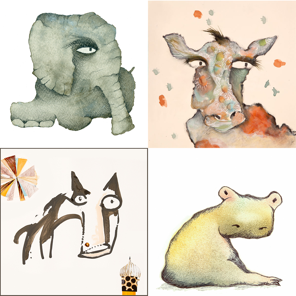 Carla's delightful animals