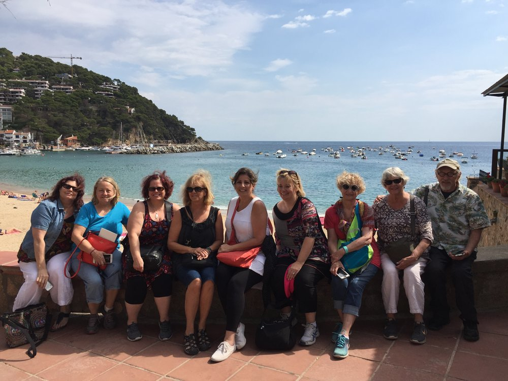 Journal with a Circle of Friends, Spain  with Judy Wise and Katie Kendrick