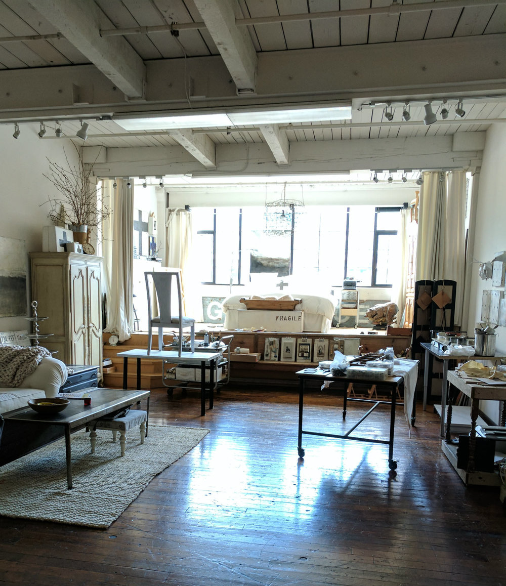 Leslie's studio