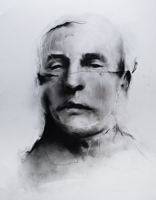 Charcoal drawing by Paul Cristina