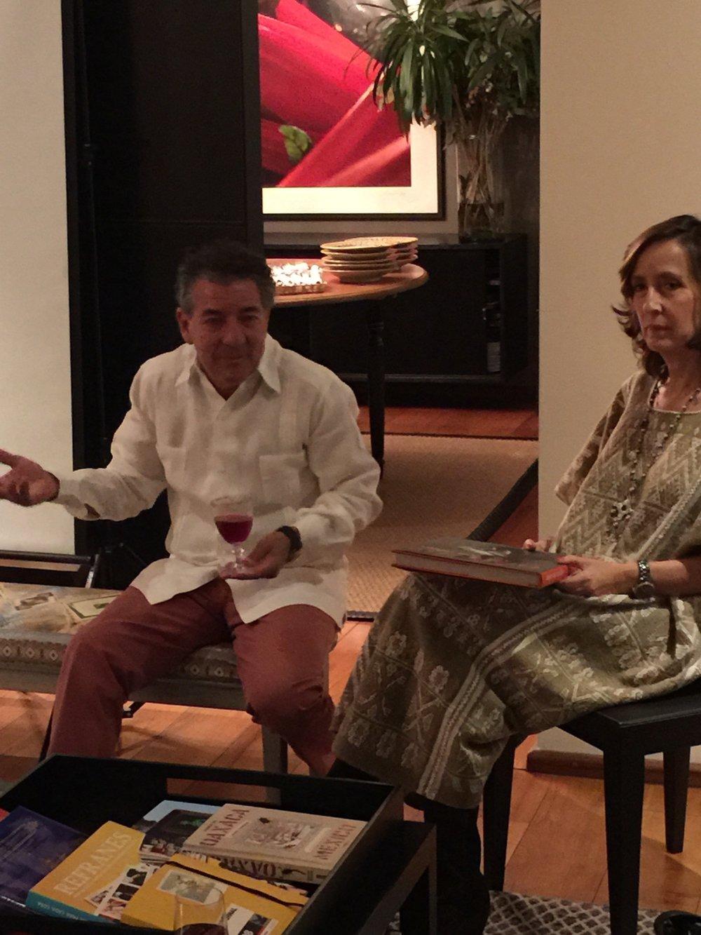 Nacho Urquiza and Laura Cordera