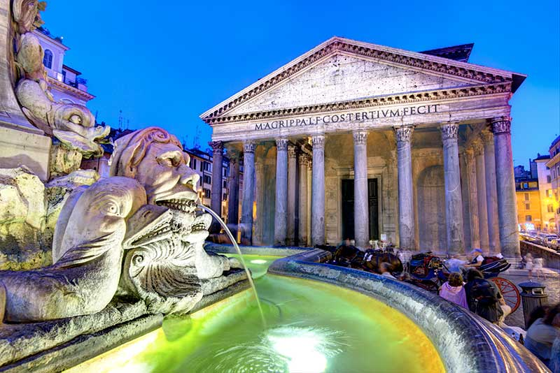 The Pantheon, an architectural marvel