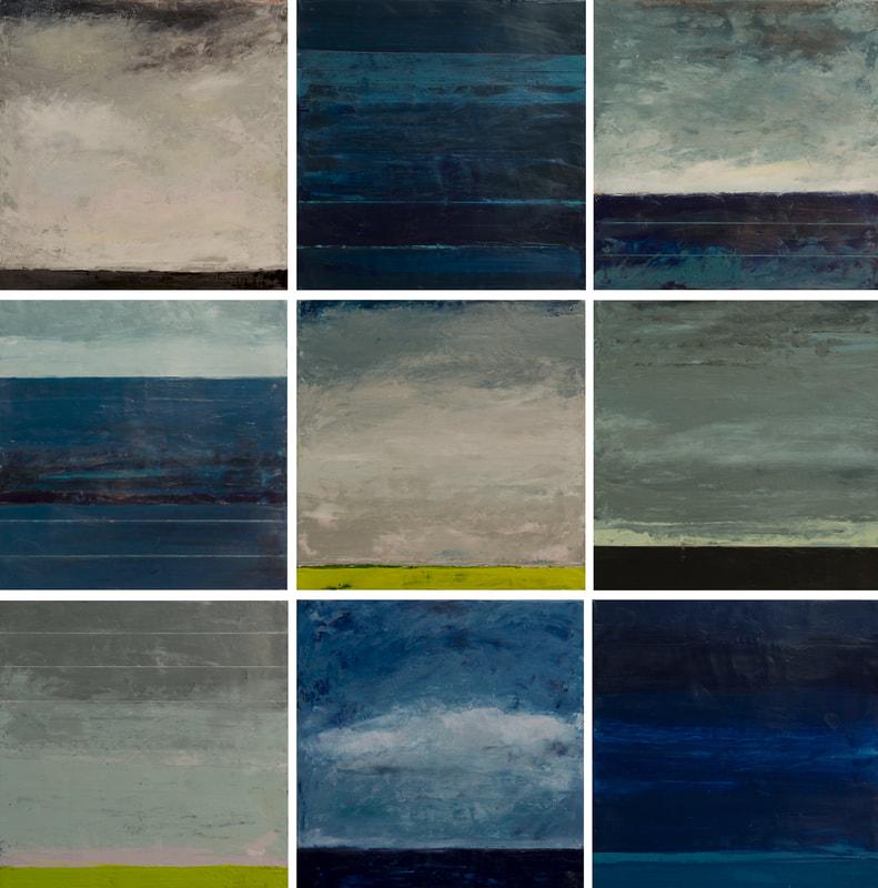 Small landscapes by Graceann Warn