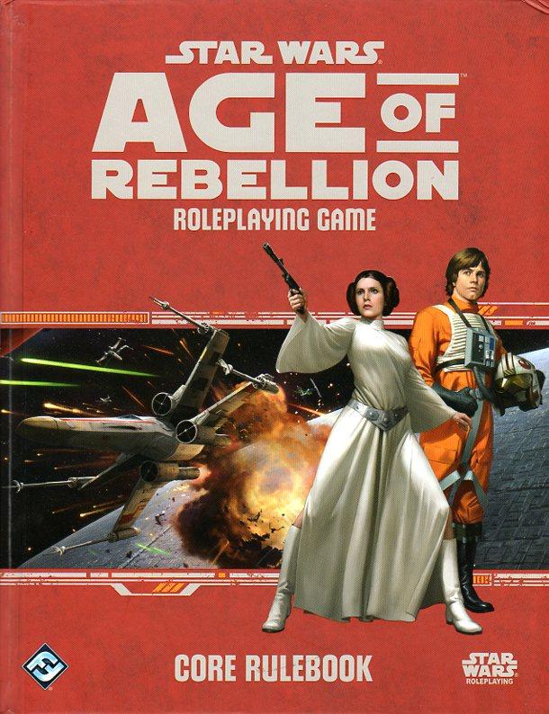 Star Wars Age of Rebellion RPG Core Rulebook