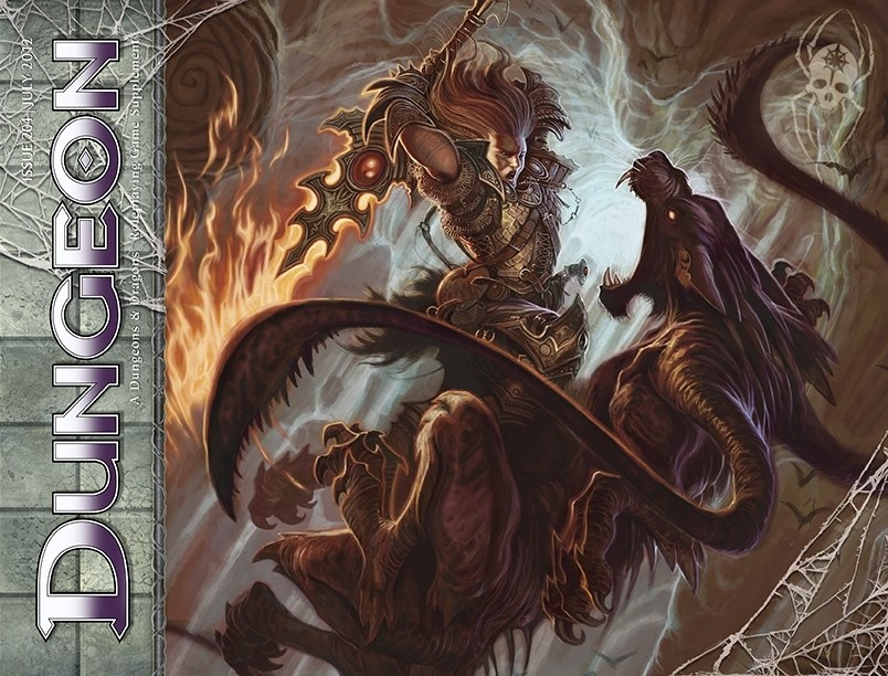Dungeon 204 (Undermountain adventure - What's Up in Downshadow)