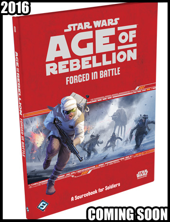 Star Wars Age fo Rebellion Forged in Battle
