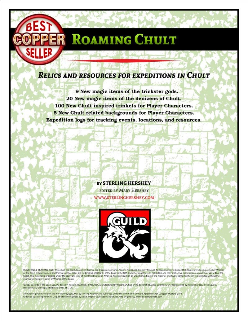 D&D - DMs Guild - Roaming Chult