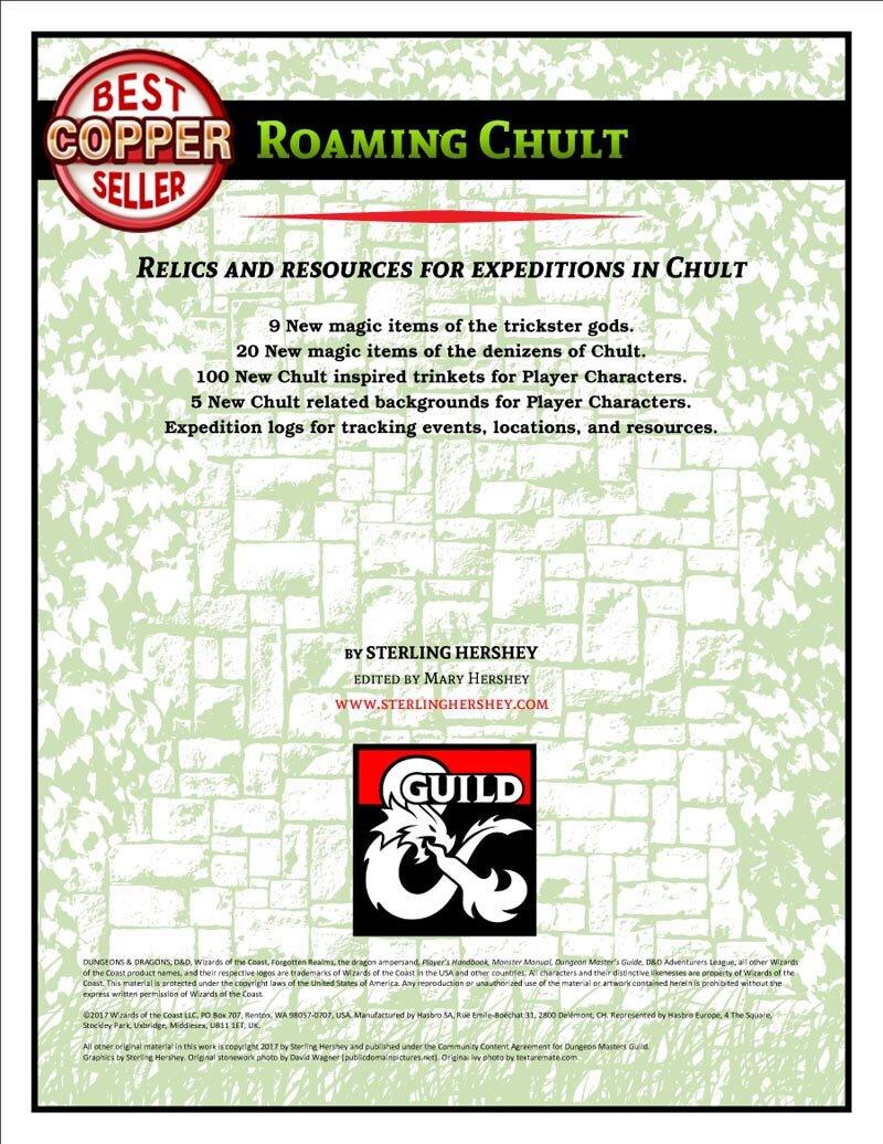 D&D - DMs Guild - Roaming Chult